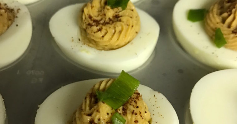 Thai Deviled Eggs
